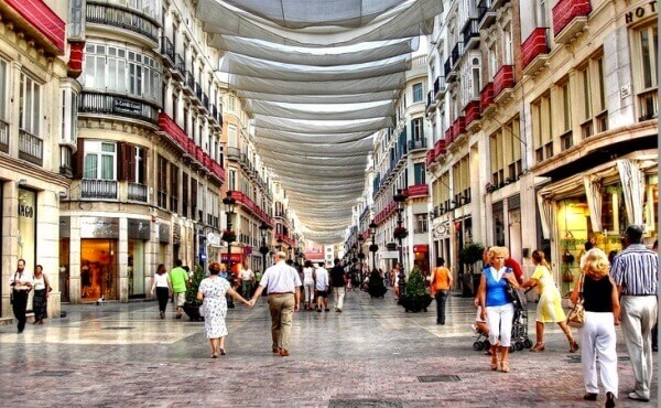 Guide about the best shops to go shopping in Malaga