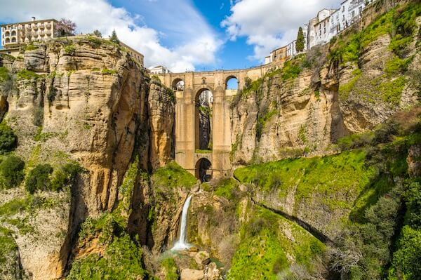 Tourism in Ronda, one of the oldest cities in Spain